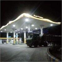 Bharat Petrol Pump Canopy