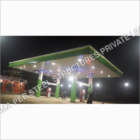 Petrol Pump Canopy work & Fabrication