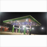 Petrol Pump Canopy Fabrication