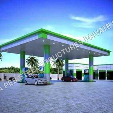 Vehicle Charging Station Canopy