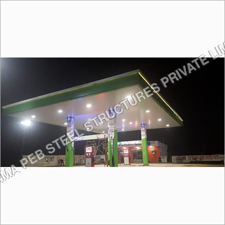 Fuels station canopy