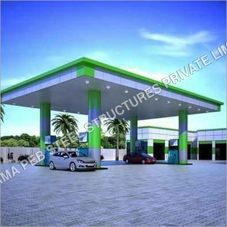 Fuel station canopy