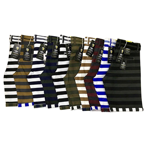 Mens Fancy Striped Shorts