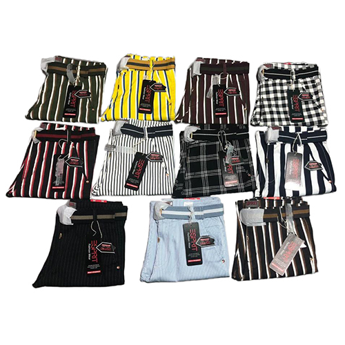 Mens Stylish Cotton Striped Shorts