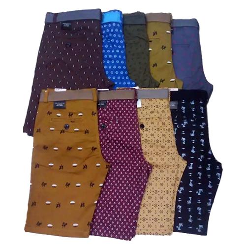 Mens Daily Wear Fancy Cotton Short