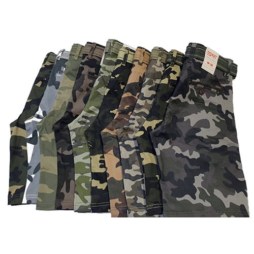 Boys Fancy Camouflage Shorts