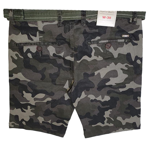 Boys Stylish Camouflage Short