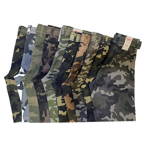 Boys Casual Camouflage Shorts
