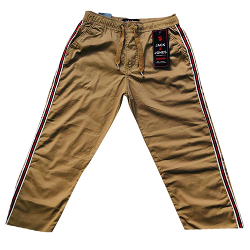 Mens Casual Non Fold Stretch Jogger