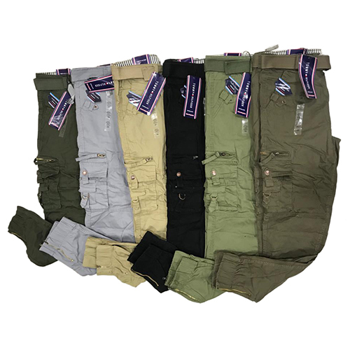 Mens Fancy Stretch Cargos