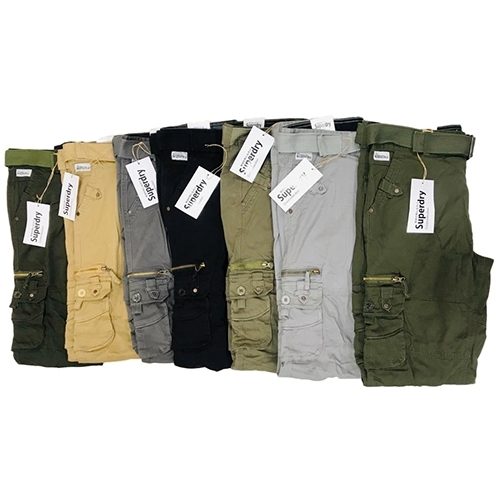Mens Casual Stretch Cargo