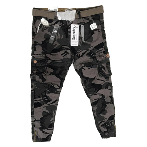 Mens Fancy Camouflage Cargo