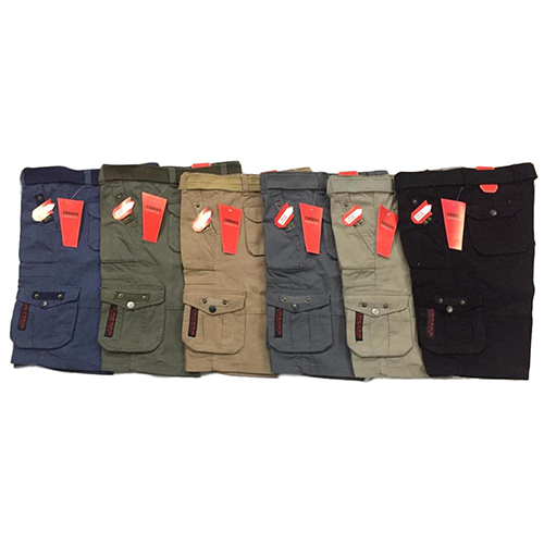 Mens Plainl Cargo Shorts