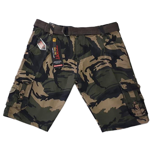 Men Cotton Cargo Shorts