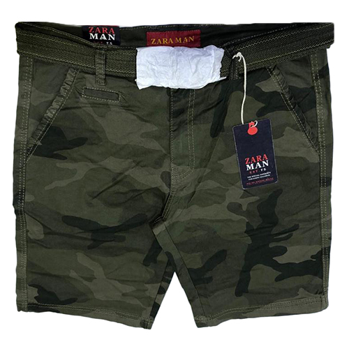 Mens Fancy Camouflage Shorts