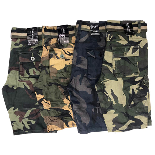 Mens Casual  Camouflage Short