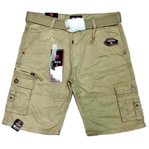 Boys Plain Cargo Shorts