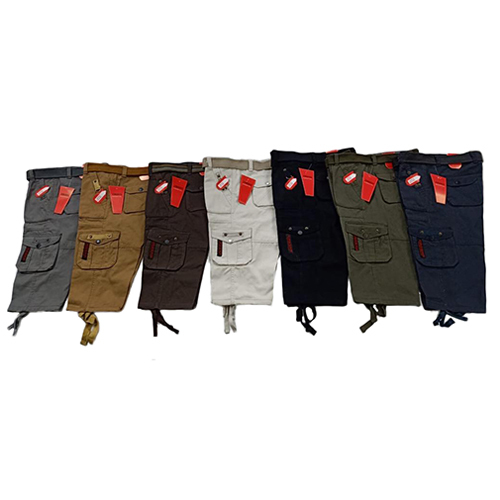 Boys Casual Cargo Shorts