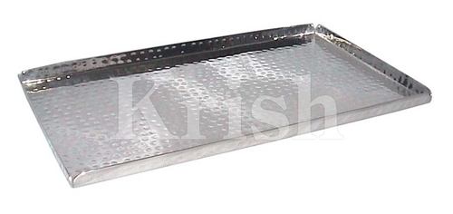 Rectangular Hammered Tray