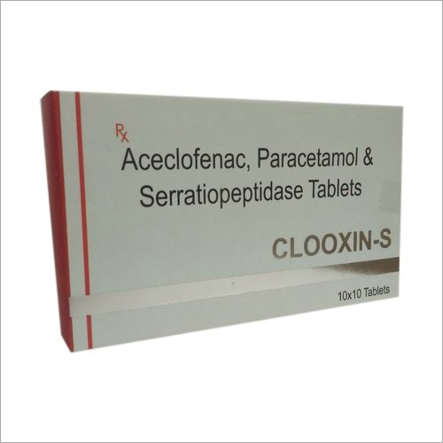 Aceclofenac Paracetamol And Serratiopeptidase Tablet