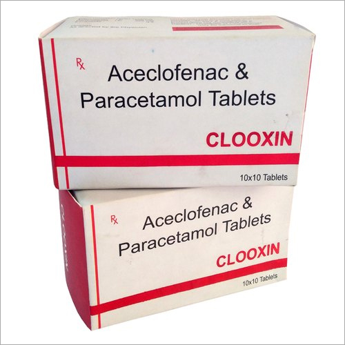 Aceclofenac And Paracetamol Tablet