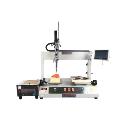 Single Head Double Platform Servo Lock Screw Machine