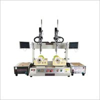 Double Head Double Platform Servo Lock Screw Machine