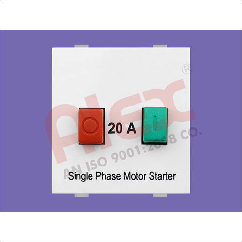 20A Single Phase Motor Starter Switch