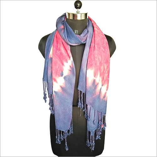 Women Printed Satin Stole