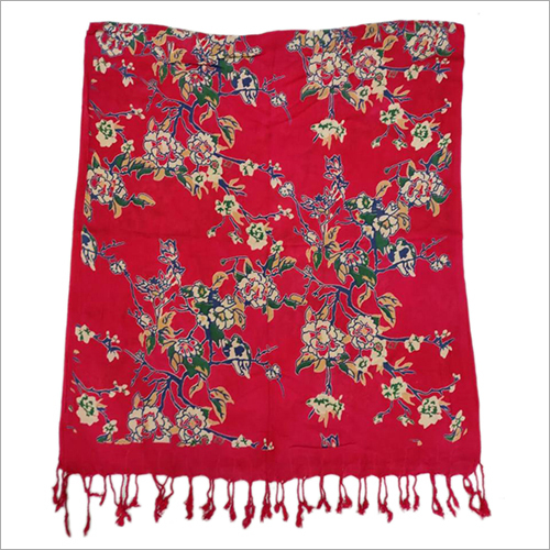 Viscose Floral Printed Stole