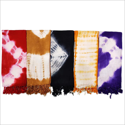 Tie and Dye Print Stole