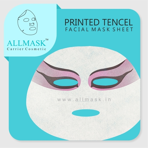 Tencel/Invisible Eye Printed Facial Mask Sheet - 100% Original - ODM/OEM Customization Available