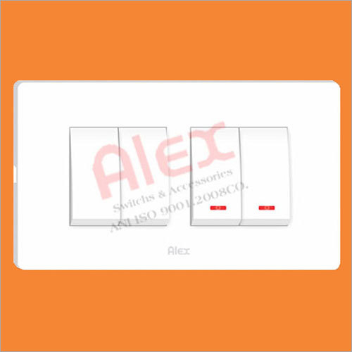 Snow White Module Base Plate With Cover Plate