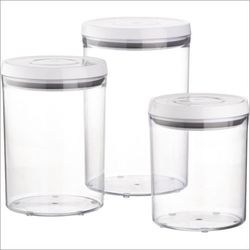 Transparent Plastic Airtight Containers