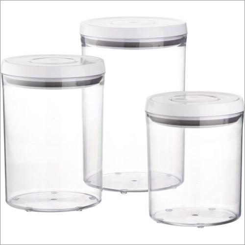 Transparent Plastic Airtight Containers