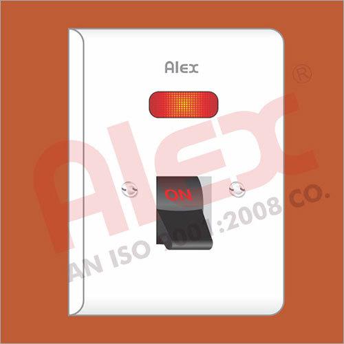 32 AMP Flush Type D. P. Switch I.S.I.