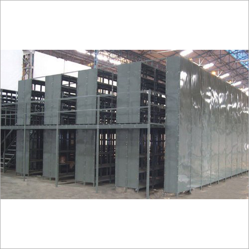 Two Tier Slotted Angle Structure Rack