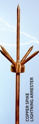 Pure Copper  Spike Lighting Arrester