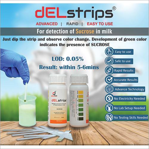 Sucrose Reagent Test Strip