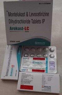 Montelukast & Levocetrizine Dihydrochloride Tablets IP