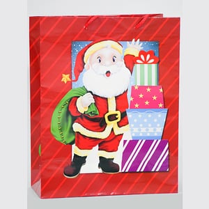 Christmast Print Paper Carry Bag