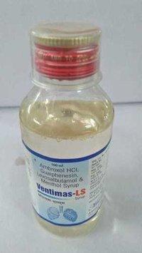 Ambroxol HCl, Guaiphenesi, Levosalbutamol & Menthol Syrup