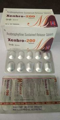 Acebrophylline Sustained Release Tablets
