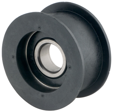 100 Dia With Bearing Flat Pulley