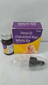 Vitamin D3 (Cholecalciferol) Drops