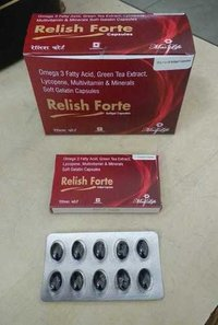 Omega 3 fatty Acid, Green tea Extract, Lycopene Multivitamin & Minerals Soft Gelatin Capsules Mg