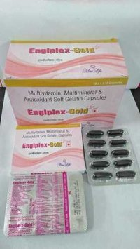 Multivitamins Multiminerals & Antioxidents Soft Gelatin Capsules