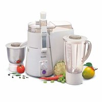 Sujata KI-28012 900-Watt Juicer Mixer Grinder with 2 Jars (White)