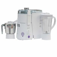 Sujata KI-28012 900-Watt Juicer Mixer Grinder with 2 Jars (White)