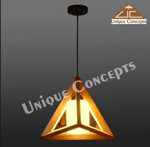 WOODEN PENDANT LAMPS